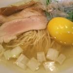 Raxamenishibashi - 味玉塩らぁ麺