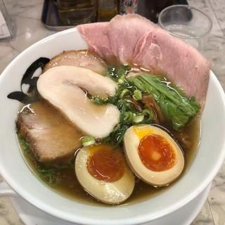 黒船 - 料理写真:特製秋刀魚だしラーメン(醤油)