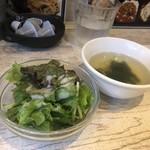 肉バル×ワイン酒場 東京食堂 - サラダ、スープ