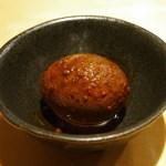 麺匠 喜楽々 - ピリカラ煮卵