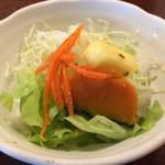ラ・パレット - 和の食材がよく使われる季節のサラダ