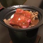 癒楽の宿 清風苑 - 料理写真:信州牛味噌陶板