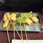 酒肴商店 アジト - 串カツ
