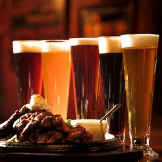 日本・アメリカ・ヨーロッパのクラフトビールが生で飲める!