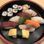 栄寿司 - ランチB(握り8カン)