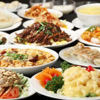 満州香 - 「満州香」お勧め宴会コースの一例です。