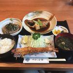やまに会館 - ランチやまに定食1380円。メチャ安い!