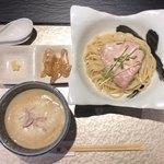 鶏Soba 座銀 - 鶏つけ Soba 900円