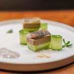 レストラン・カワサキ - 鮎 胡瓜