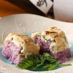 波平キッチン - 本日のおすすめ「波平さんのワイルドなお寿司」