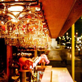 樽生12種類、ボトル50種類以上の直輸入ベルギービール