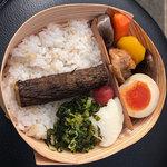 寶屋 - 料理写真:「日田きこりめし」(980円)をゲット。限定100個でした。