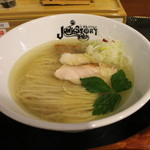らーめんstyle JUNK STORY - 料理写真:塩のキラメキ(950円、斜め上から)