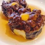 名古屋肉居酒屋ぽっ花 - 加茂茄子と牛スジどて煮