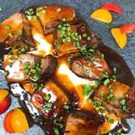名古屋肉居酒屋ぽっ花 - トロトロ豚の炙りとマッシュポテト