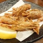 村上水産仲買人直営店鮮魚部 - モサ海老の頭と尻尾