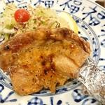 村上水産仲買人直営店鮮魚部 - 鶏もも一枚炙り焼き