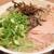 麺屋 赤橙 - 料理写真:豚骨ラーメン(ねぎ、木耳多め)