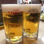 117167578 - 生ビール 550円×2