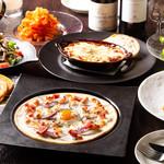 チーズ料理×ワインブッフェ シャンブレ - コース料理