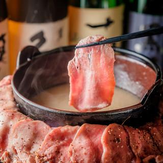 仙台牛タンはじめ彩り豊かな肉料理が多数