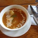 イート - ランチセットのスープ