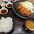おひつごはん 四六時中 - 料理写真:[料理] 牡蠣フライ定食 全景♪W (味噌汁椀の蓋を取った所)