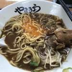 中華そば やまきょう - ガッツリ混ぜ混ぜで…(^ ^)
