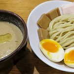 麺屋 さん田 - 【つけ麺 並 + 半熟煮玉子】¥900 + ¥100