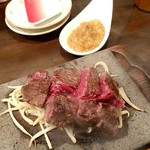 taishuubanikusakabafujiyama - レアステーキ 1200円