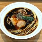 ら~麺 安至 - 漆黒醤油ら~麺