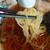 篠亭 - 料理写真:麺アップ