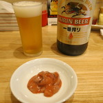 117179451 - 瓶ビール 550円