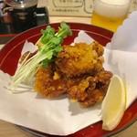 和ダイニング 縁慈 - おすすめという鶏の唐揚げ680円+税