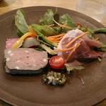 117180573 - 前菜の鴨のパテ