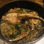 22 - 白菜とカニ爪のポルチーニクリーム煮