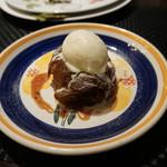 チェント・ドゥエ - 焼きリンゴのアイスクリーム添え