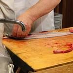 味菜 - 鰻調理中2