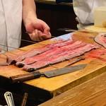 味菜 - 鰻調理中3