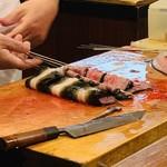 味菜 - 鰻調理中4