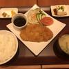 kafeandoraunjisoratotsuki - 料理写真:トンカツ定食=750円