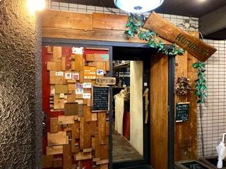 くるまり - お店の入口