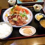 旬菜海鮮 牡丹荘 - 料理写真:信州鳥柚子香味焼き 1000円