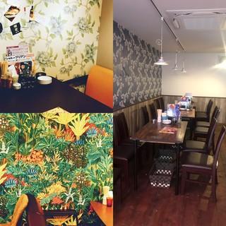 天満の串カツ店「串カツ酒場」で女性に人気のカリフラピザ