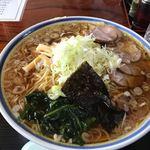 双葉食堂 - 料理写真:中華そば大大 ¥850