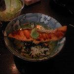 ぷれいぼうい  - 鮭茶漬け
