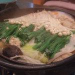 ちゃんこ 佐賀光 - ちゃんこ鍋