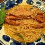 1172897 - 渡りガニのトマトクリームスパゲッティ