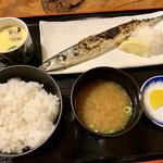 海鮮問屋仲見世 - 焼魚定食。¥500→¥600に価格改定(涙)