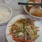 117207972 - 吉兆 肉野菜定食(1,000円)